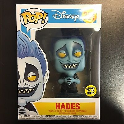 Funko POP Disney Hercules Hades Glow In The Dark Blue - MINT BOX