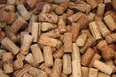 300 Natural & Synthetic Used wine corks. Wedding Crafts, red &white wine