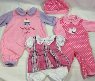 "Lot Doll Clothes Clothing Outfits 16"" 18"" Fits Luva Bella Lg Baby Alive Bitty A8"