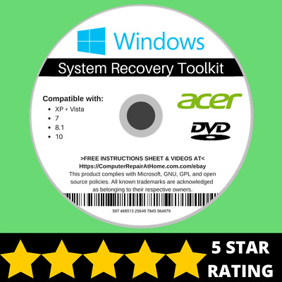 acer aspire recovery windows 8