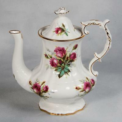 "Hammersley ""grandmother's Rose"" Coffee Pot"