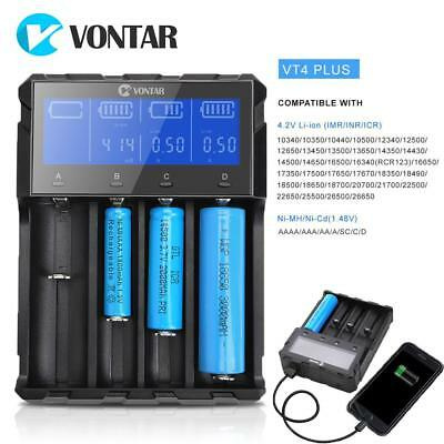 4-Bay charger LCD Charger Battery For Li-ion Ni-CD AA AAA 26650 18650 Batteries