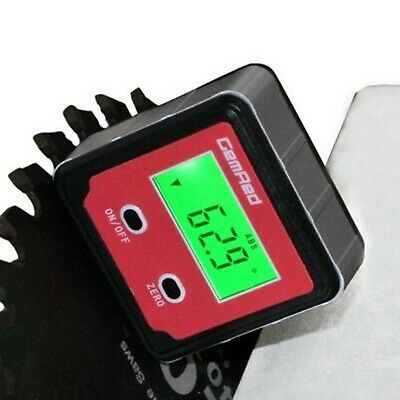 GemRed 82412 Backlight Digital Level Box Protractor Angle Finder Level Gauge ...