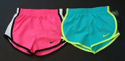 NWT Nike Dri-Fit Toddler Girls Tempo Running Shorts Size 2T 3T 4T 276358