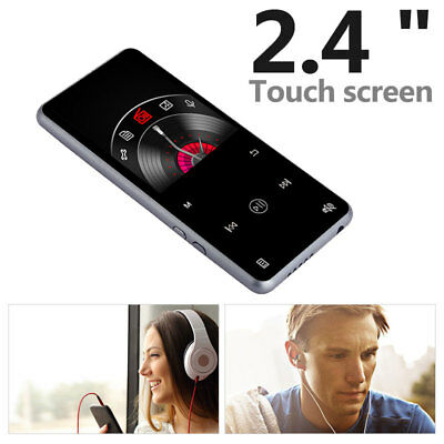 Bluetooth MP3 MP4 Player 8/16GB FM Recorder pen Touch button Walkman for Student