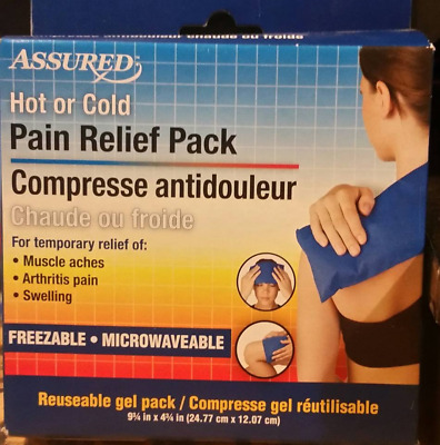 Assured Hot Cold Pack Back Pain Relief Therapy  Arthritis Pain ( Reuseable )