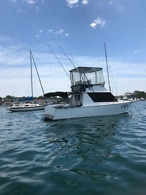 28ft Offshore Fishing Boat