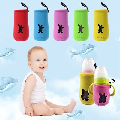 Baby Bottle Milk Bag Thermal Insulation Antiscald Cover Holder Keep Warm Storage