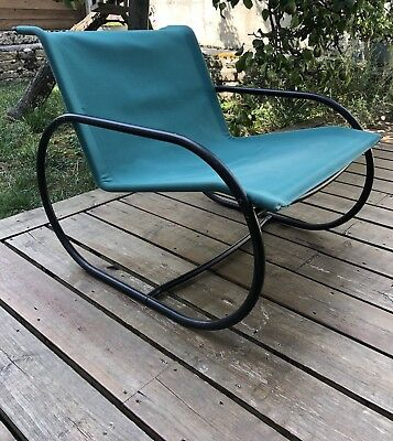 Lounge Chair Vintage Years 70,80' Lounge Skin, Scandinavian Made In Sweden