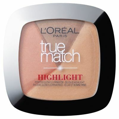 Loreal True Match Highlight Glow Illuminator Powder - 102.D/W Golden Glow