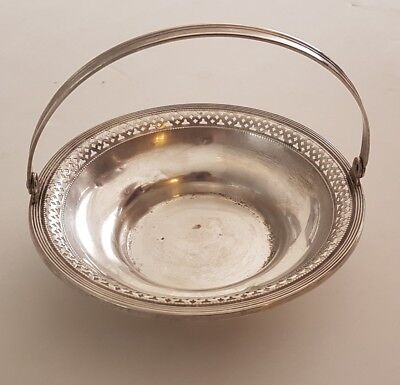 Vintage Sterling Silver Fruit / Candy Bowl - Solid 75.7 Grams Solid .925 Silver
