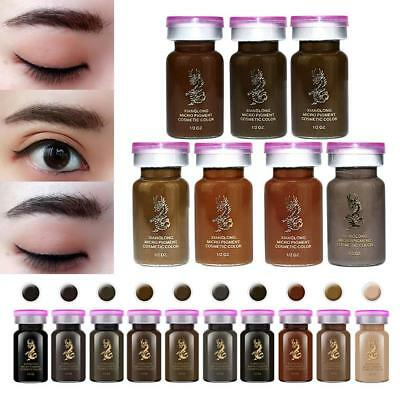 Microblading semi-permanent Eye Brow Liner Tattoo encre pigment Tint Emulsions