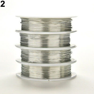 0.3mm-0.8mm Plated Copper Wire Beads Earring Bracelet Necklace Jewelry Making