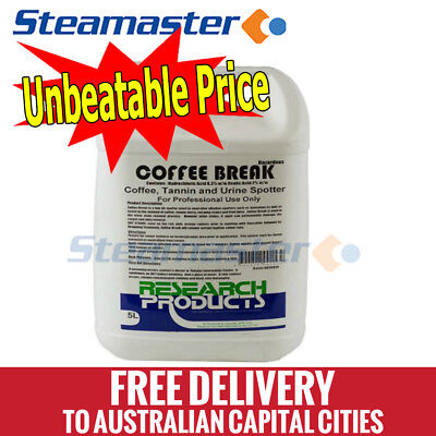 Carpet Cleaning Equipment Coffee Break 5L Remove Coffee and Tannin Stains
