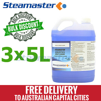 Carpet Cleaning Chemicals Alkaline Tile & Grout Cleaner 15L FREE DELIVERY