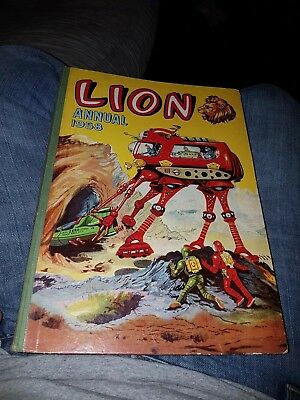 Lion Annual 1958 - Captain Condor by Frank Pepper price unclipped golden age