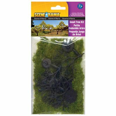 """Woodland Tree Kit 1.25"""" To 3"""" 5 Per Package-Small"""