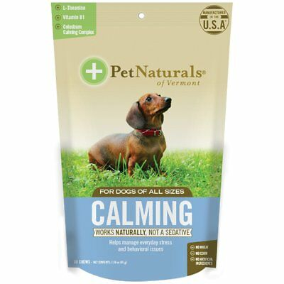 Pet Naturals Of Vermont Calming Chews For Dogs 30 Per Package-