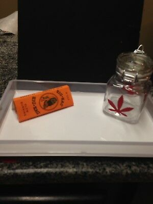 Rolling Tray and stash jar