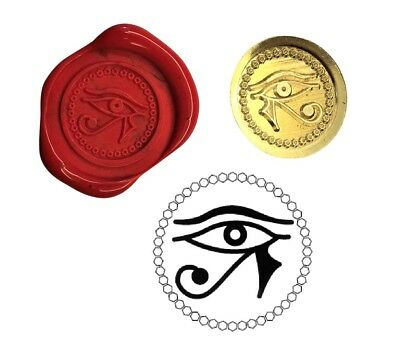 Eye Of Horus Wax Stamp Seal Starter Kit or Buy Coin Only. XWS039B/XWSC362