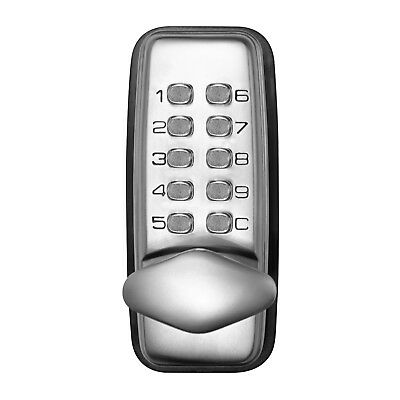Ikonic Weather Resistant Digital Lock Entry Set for 35-65mm Doors/Large Numbers