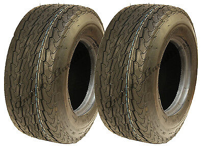 2 - 16.5x6.50-8 trailer tyre 6ply high speed road legal buggy cart mower golf