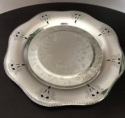 Viking Plate Canada Silver Plated Cookie Tray