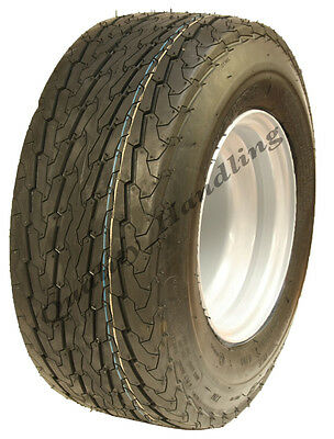 16.5x6.50-8 trailer tyre on rim 6ply high speed road legal buggy mower golf