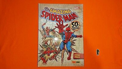 THE AMAZING SPIDERMAN 50th STAN LEE ANNIVERSARY EDITION VINTAGE ANNUAL MARVEL