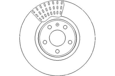 FRONT BRAKE DISCS FOR AUDI A4 1.9 06//2004-12//2004 2414