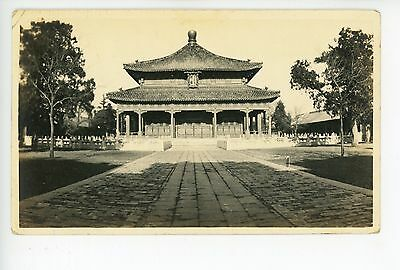 Beijing Palace RPPC-Size Antique Peking 北京市 Antique Real Photo 1910s