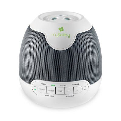 HoMedics myBaby Soundspa Lullaby Sounds and Projector MYB-S30 ~ NEW - B92