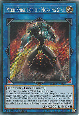 Yu-Gi-Oh: MEKK-KNIGHT OF THE MORNING STAR - CYHO-EN045 - Secret Rare Card 1st Ed