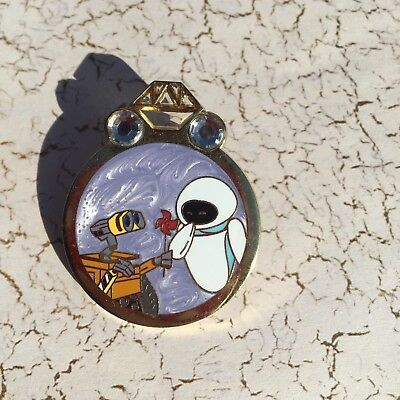 Disney Couples Reveal Conceal Mystery Wall-E and Eve Ring Limited Release pin