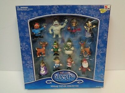 Rudolph & The Island of Misfit Toys HOLIDAY CLIP-ON COLLECTION Memory Lane MIB