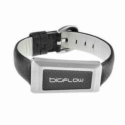 Bioflow Magnetic Therapy Windsor Leather Wristband - From Bioflow Direct