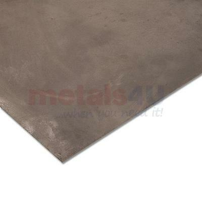 """14 gauge (.069"""") x 6"""" x 12"""" 1018 Cold Rolled Steel Sheet Plate"""