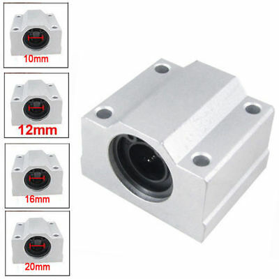 For CNC Aluminum SCS8/10/12/16/20UU Linear Motion Ball Bearing Slide Bushing