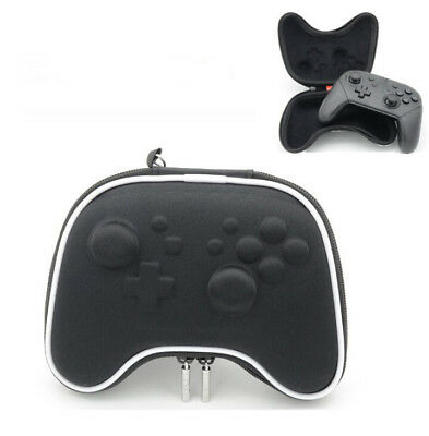Controller Travel Protective Shell Bag Pouch Case Black For Nintendo Switch Pro