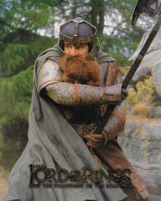 NEW LOTR Lord Of The Ring GIMLI 8x10 Poster Card