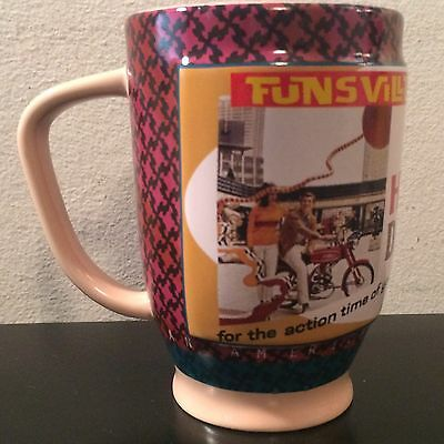 2009 Harley Davidson Funsville USA American Legend Coffee Mug Cup Made by Russ