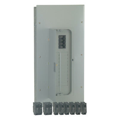 GE 200-Amp 20-Space 20-Circuit Flush-Surface Home Indoor Main-Breaker-Box Panel