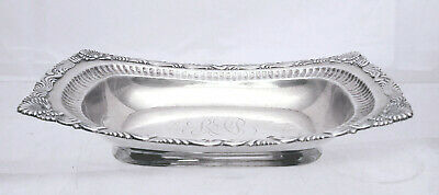 Tiffany & Co. Sterling Vegetable Dish in Wave Edge Pattern