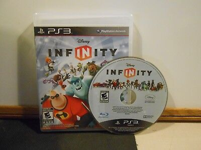 Disney Infinity Sony Playstation 3 Game PS3 (GAME ONLY w/ Manual) FREE SHIPPING