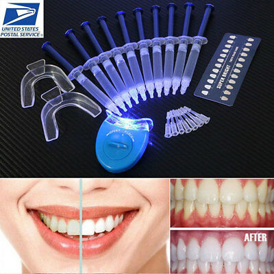 Teeth Whitening 44% Peroxide Dental Bleaching System Oral Gel Tooth Whitener Kit