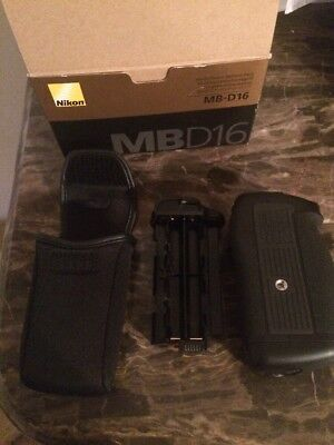 New Nikon MB-D16 Multi Battery Power Pack/Grip for D750 With Free Bag