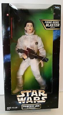 "Star Wars Princess Leia Hoth Gear 12"" Figure Doll Kenner MIB"