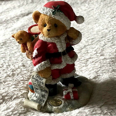 """Cherished Teddies 141100 Nickolas """"You're At The Top Of My List"""" 1995"""