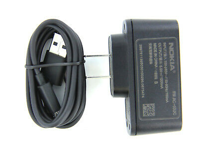 OEM Nokia Travel Home Wall USB Charger with Micro USB Cable