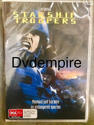 Starship Troopers DVD New and Sealed Australia All Regions